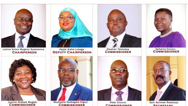 Commissioners and Secretary EC