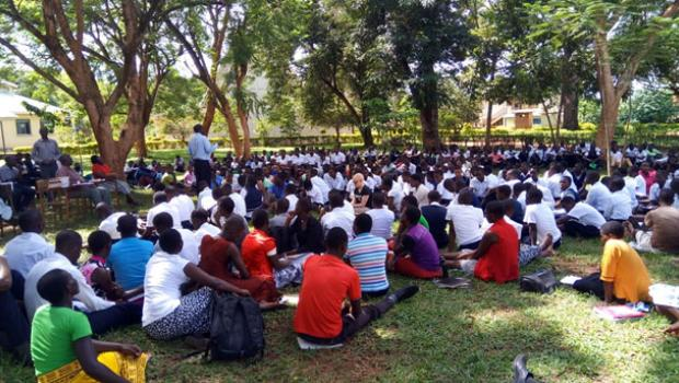 Outreach for students of Bishop wills Teachers' Training College, Iganga