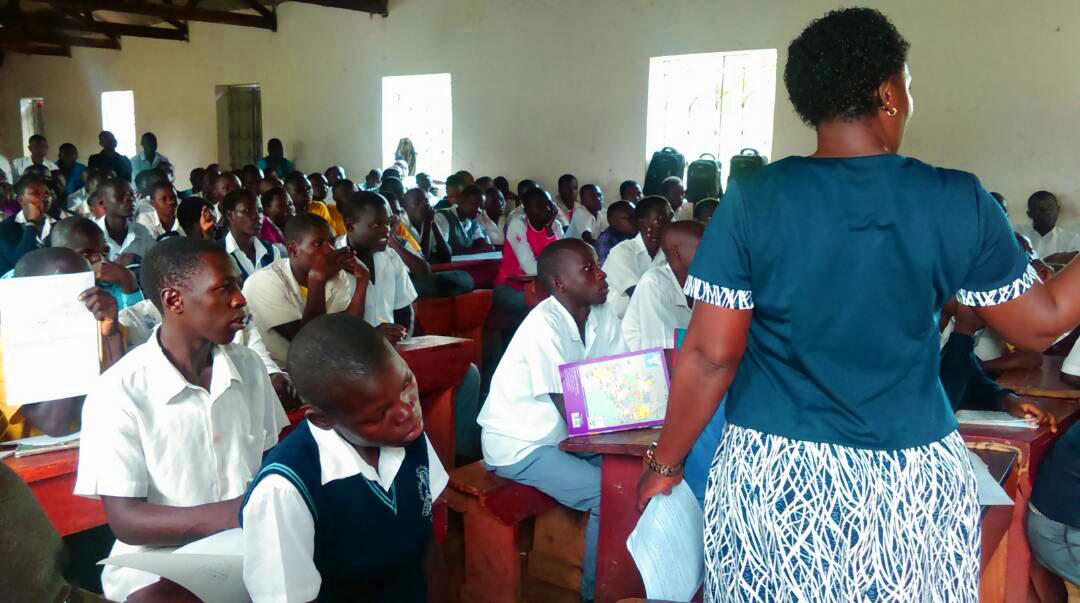 Voter Training in Schools and Institutions in Progress