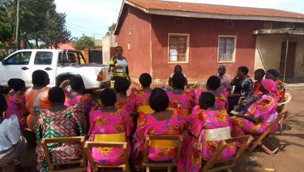 Women groups in Iganga district were sensitized.